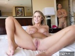 Alexis Adams in Step Brother Caught Peeping By Step Sister By The Pool 28