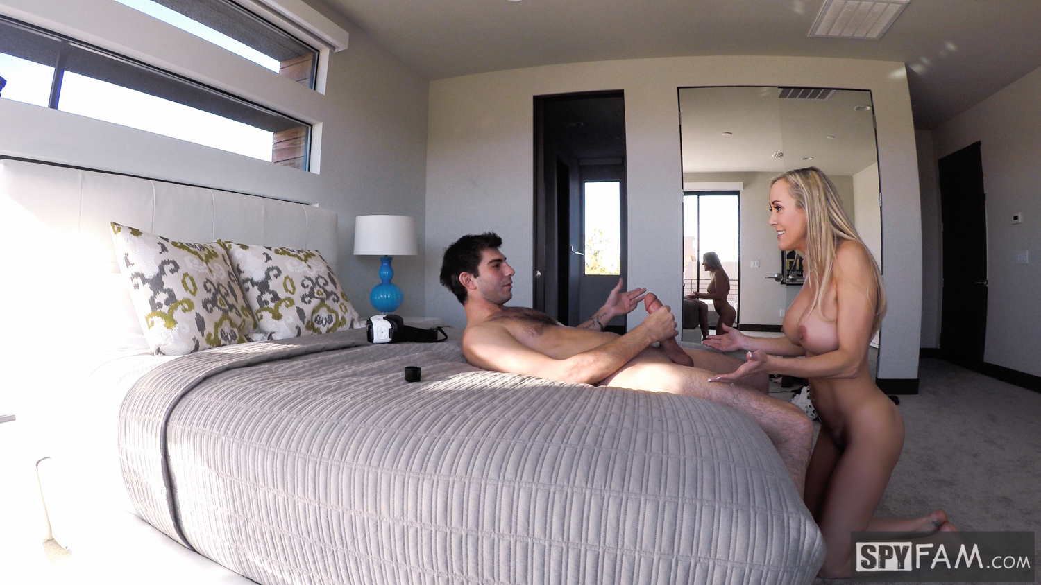 Brandi Love in Stepmom Plays with Gamer Son's Joystick 6