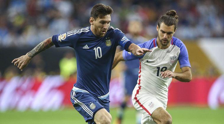 Messi vs USA