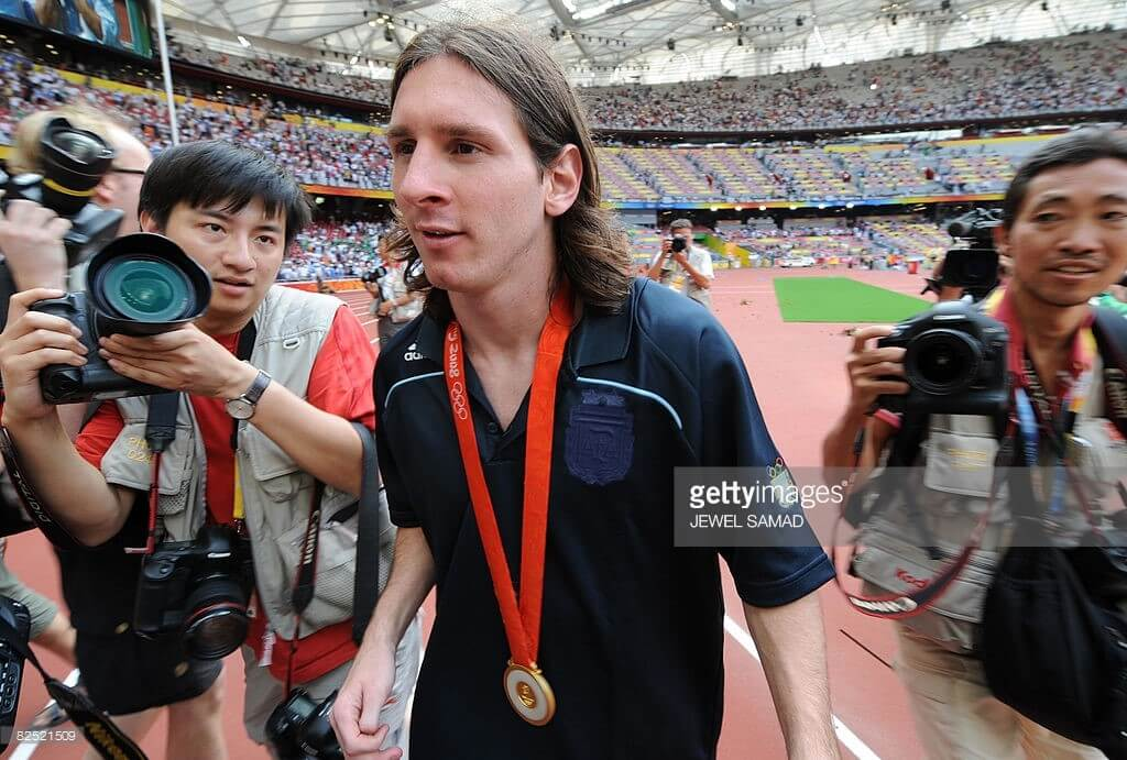 Messi Olympic Gold