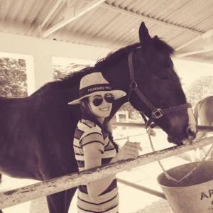 Roshni Santosh Horse Riding