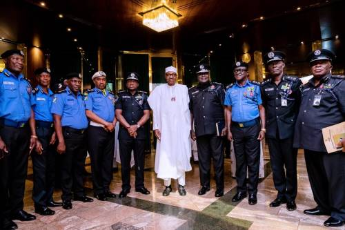 Buhari and Police force