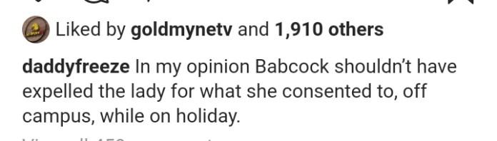 Babcock sex video