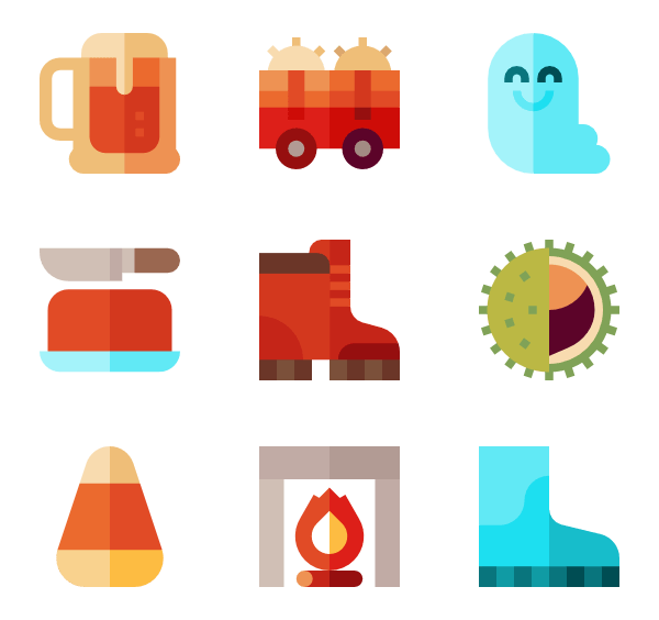 fall design icon pack