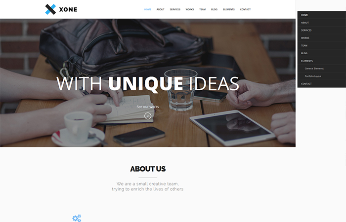 best one-page wordpress themes