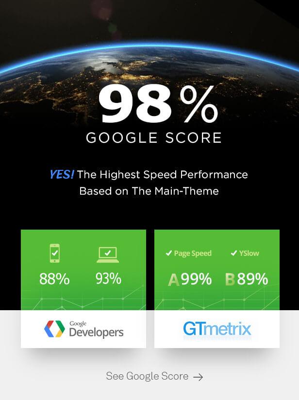 Google score