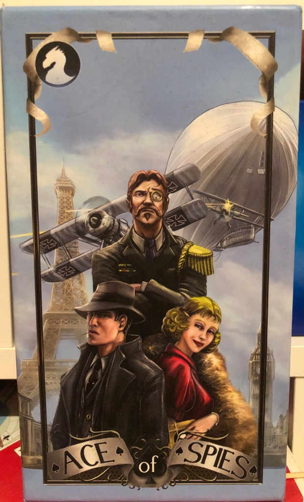 Box cover of the game Ace of Spies