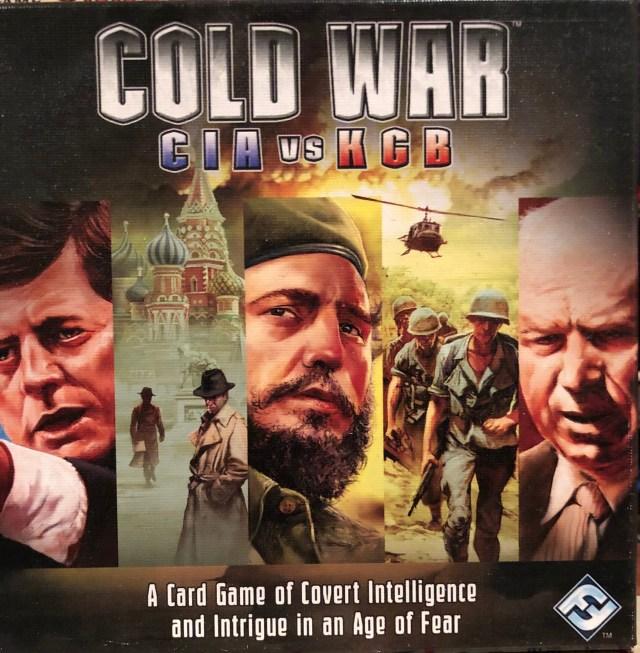 Cover art for Cold War  CIA vs KGB