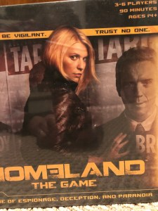 Front  cover of Homeland: The Game