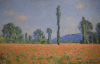 Poppy Field (Giverny) — Claude Monet