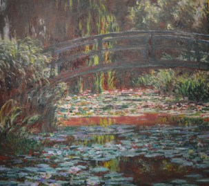Water Lily Pond — Claude Monet