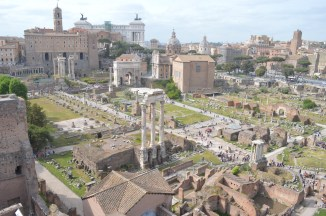 The Roman Forum from Palantine Hill