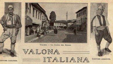 Corriere della Sera, nëntor 1916 Vlora italiane