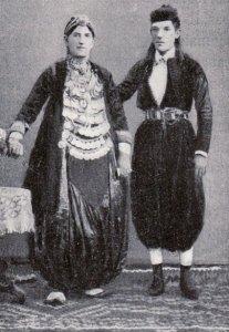Çift katolik, Shkodër, 1890.