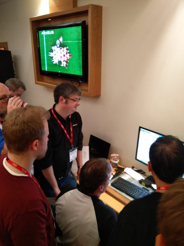 The SanDisk competition at SQL Sat Exeter was brilliant