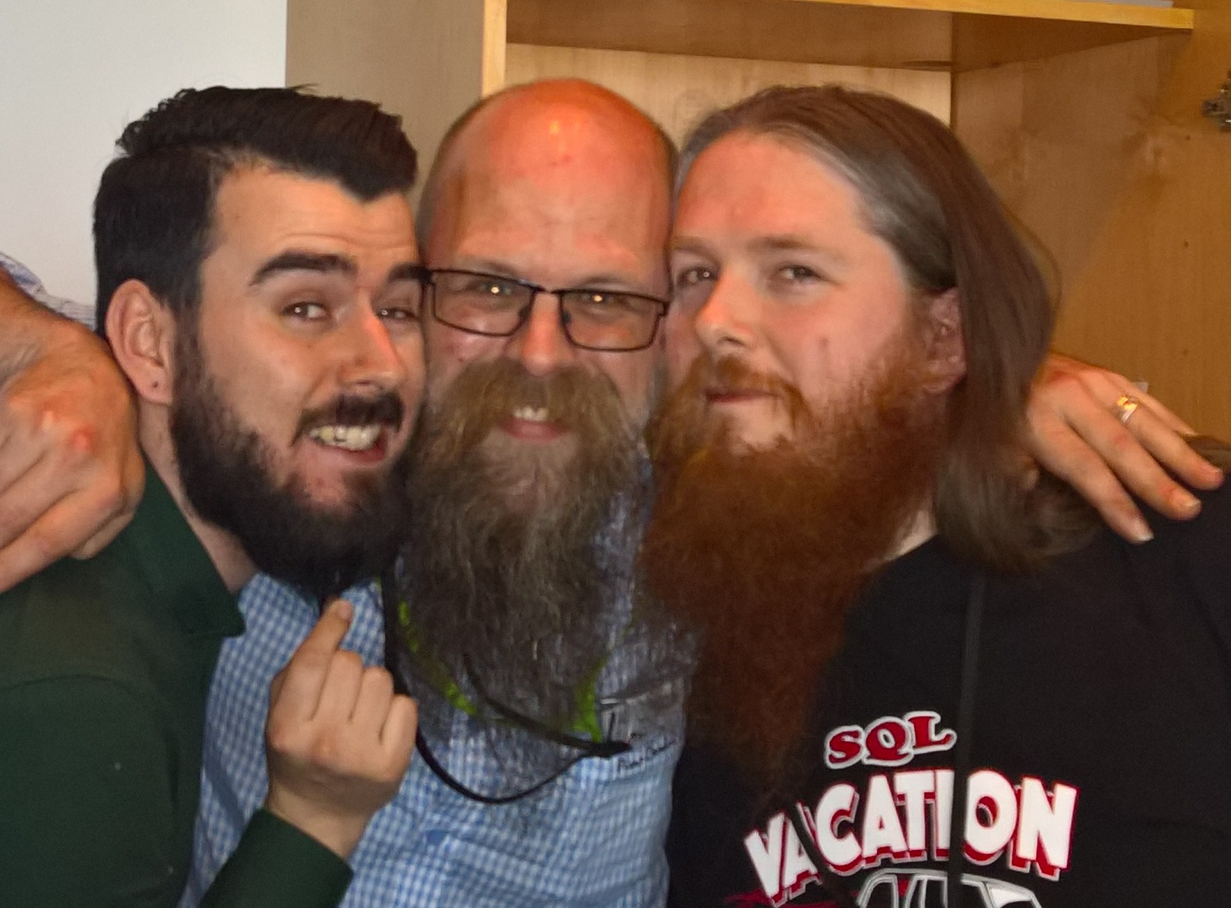 Return of battle of the beards with Tobiasz and Terry