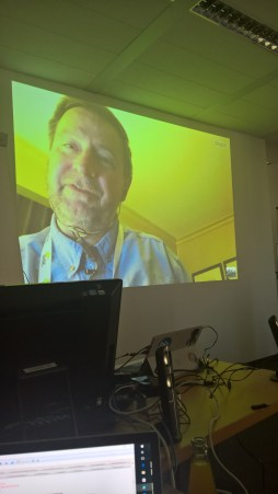 Mr Snover joined us in Munich via Skype