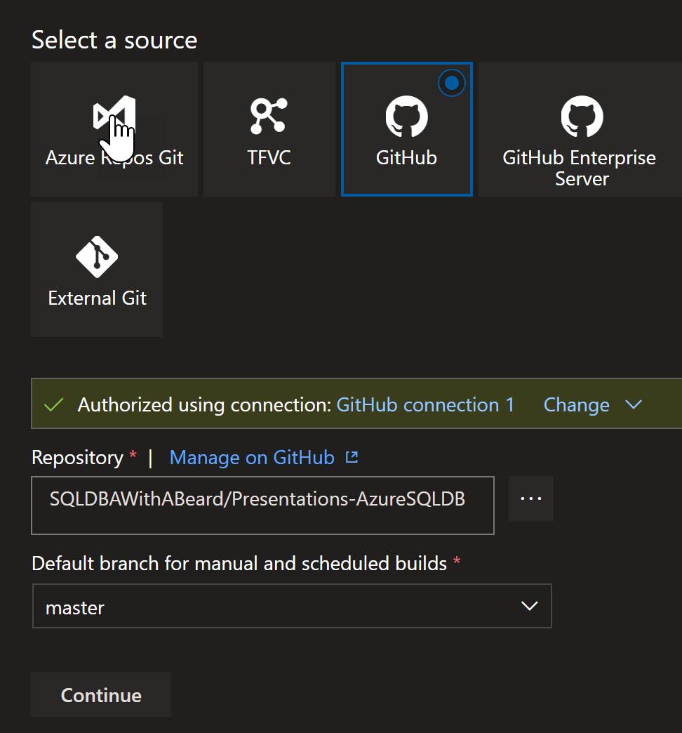 Building Azure SQL Db with Terraform using Azure DevOps