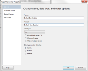 Hide and Group Columns in SSRS Using a Parameter – A Shot of SQLEspresso