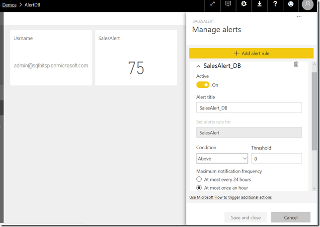 Power BI – Some Random Thoughts