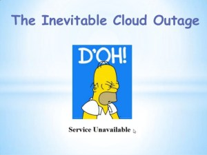 cloud outage