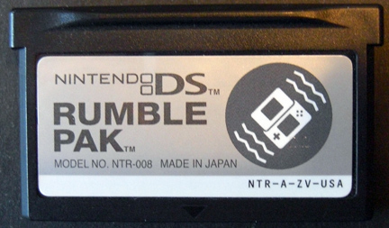 DSRumblePak Forgotten Relics, DS Rumble Pak FORGOTTEN RELICS – DS Rumble Pak DS Rumble Pak