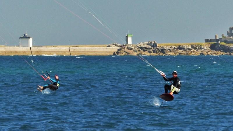 kitesurf foil bretagne duo
