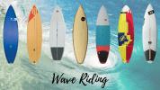 planche surf kitesurf vague