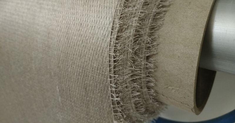 rouleau fibre de lin