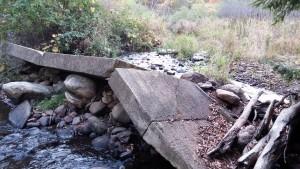 Fallen Dam
