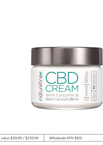 Naturefineplus CBD Cream