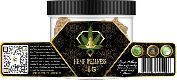 Hempwellness Hawaiian Haze CBD Flower