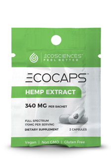 ECOCAPS 30ct Bottle - ECOCAPS 2ct Travel