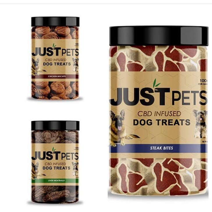 CBD Dog Pet Treats 100mg