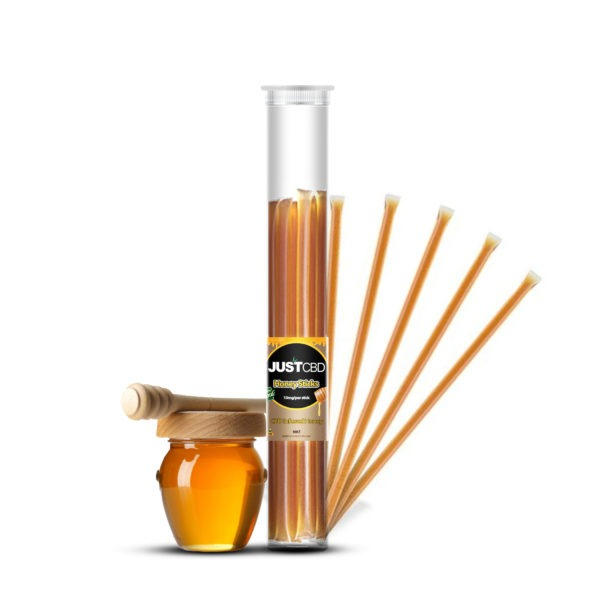 JUSTCBD 10mg HONEY STICKS 10ct