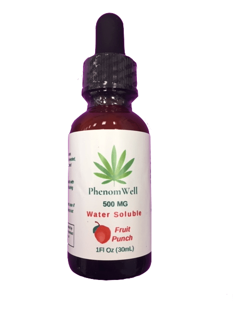 PhenomWell 500mg Fruit Punch Water Soluble Nano