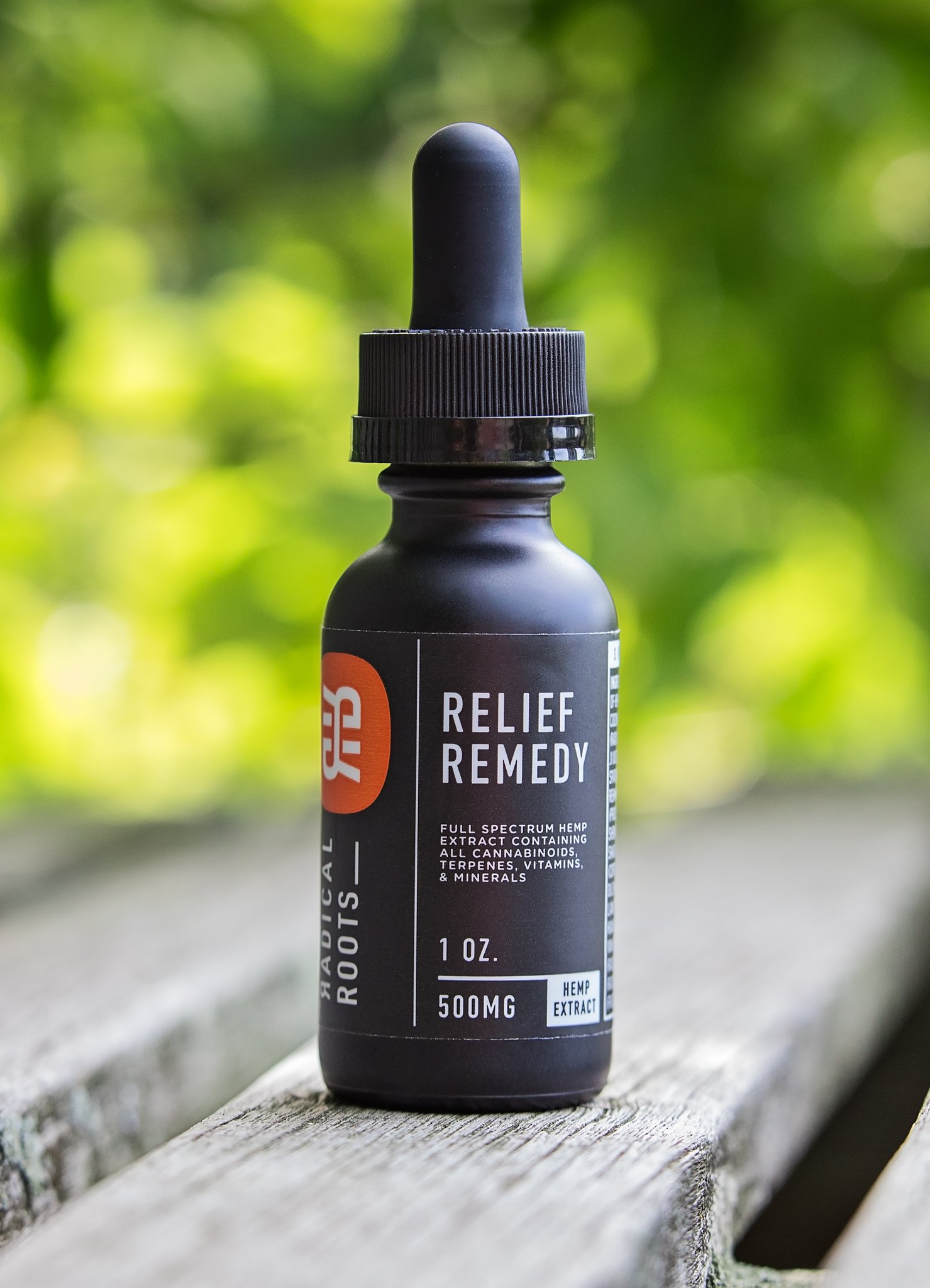 Radical Roots Relief Remedy 500mg CBD