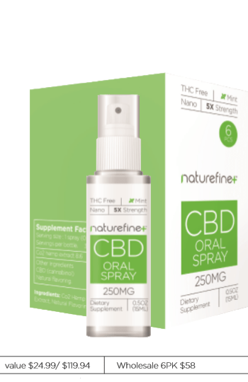 Naturefine+ CBD Oral Spray