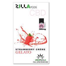 Zilla Pods 300mg Strawberry CG