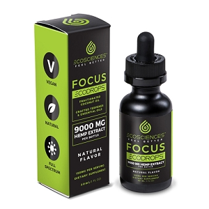 EcoScience EcoDrops Focus 30mL, 10mL, 1mL