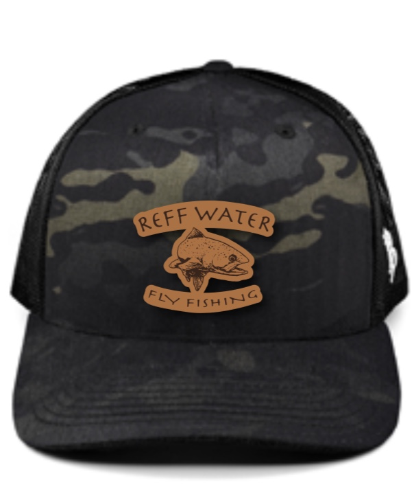 Branded Bills Reff Water Hat (Black Camo)