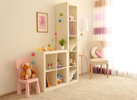 de sol d une chambre d enfant
