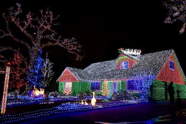 Christmas Lights North Carolina