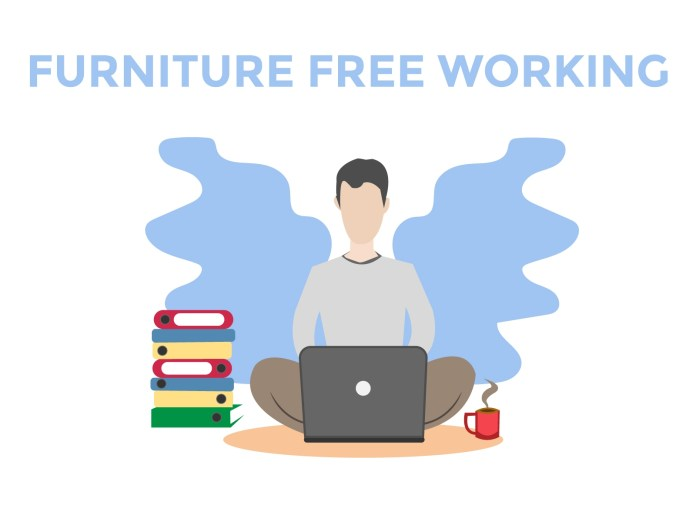 furniture free working