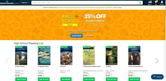 betterworldbooks buy cheaper college textbooks