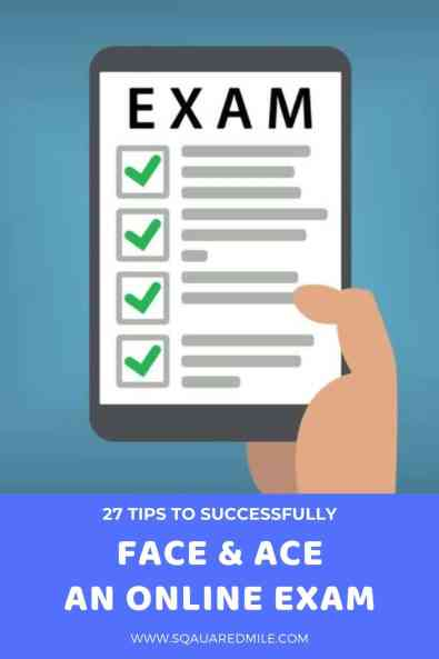 27 tips to taking an online exam and acing it