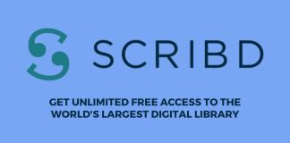 scribd free 30 days trial