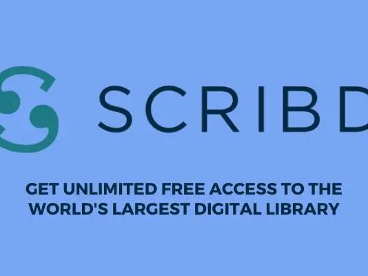 scribd free 30 days trial