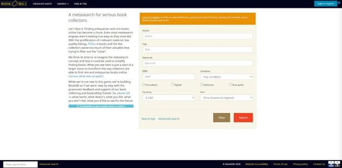 bookglit search engines