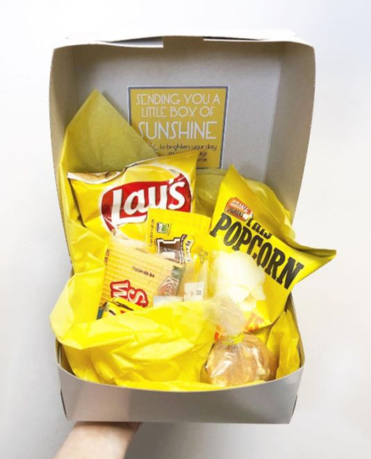 yellow-sunshine-box-care-packages-college-students